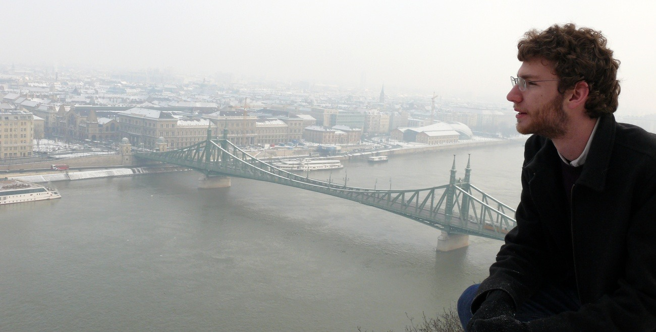 Daniel. amerikai Budapesten, American Hungary